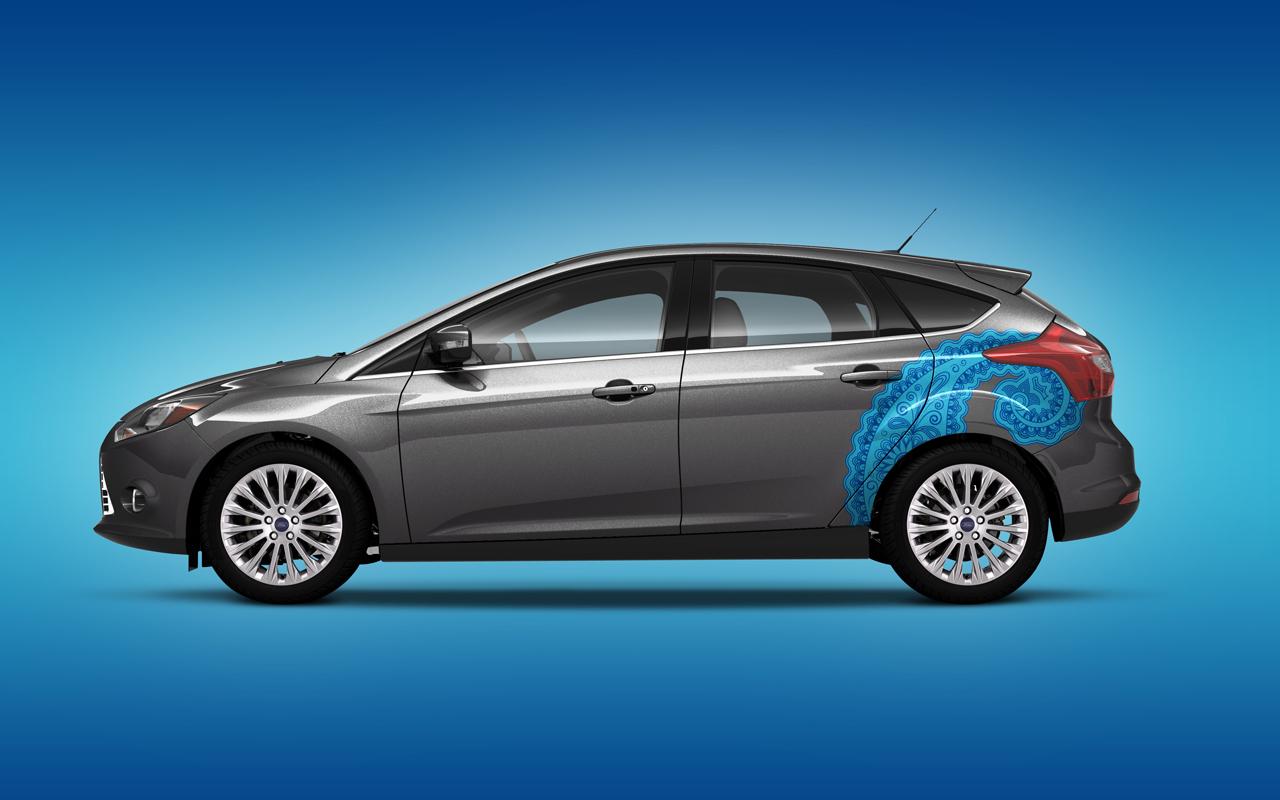 Foto de Ford Focus 2012 Vinilos (6/8)