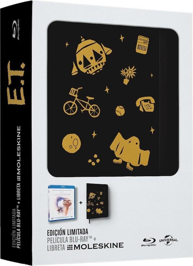 Edición Especial E.T. + Moleskine