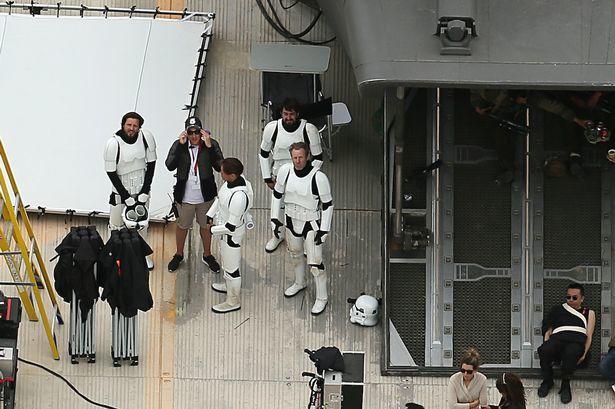 Primeras imágenes del rodaje de Rogue One