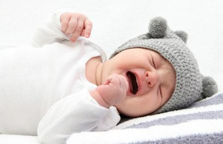 Dolor de barriga en el bebé