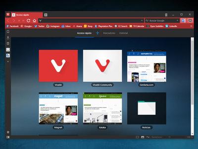 Vivaldi 1.11 mejorará la interacción de los usuarios con las miniaturas entre otras novedades