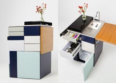 Gali, la cocina compacta ideal para espacios reducidos