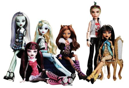 "Las muñecas ""Monster High"" agotadas por ser las favoritas de las niñas"