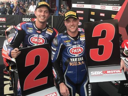 Dos asientos menos en WSBK: Alex Lowes y Michael van der Mark renuevan con Yamaha
