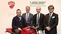 Ducati fabrica su moto 1.000.000
