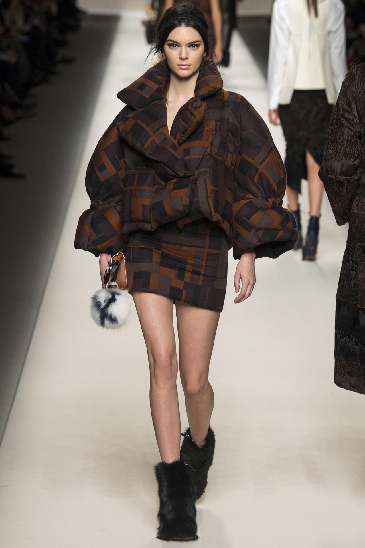 Foto de Kendall jenner en las Semanas de la Moda (10/17)