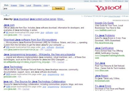 Yahoo prueba la integración de Del.icio.us con su buscador