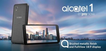 Alcatel 1: el más básico de los smartphones de Alcatel se apunta a Android Go