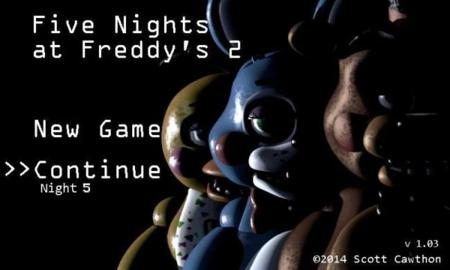 Five Nights at Freddy's 2 ha llegado a Android