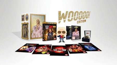 La WWE 2K19 Wooooo! Collector's Edition incluye un trozo de bata de Ric Flair