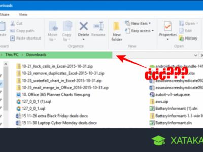Cómo solucionar que la carpeta Descargas de Windows 10 cargue tan lento