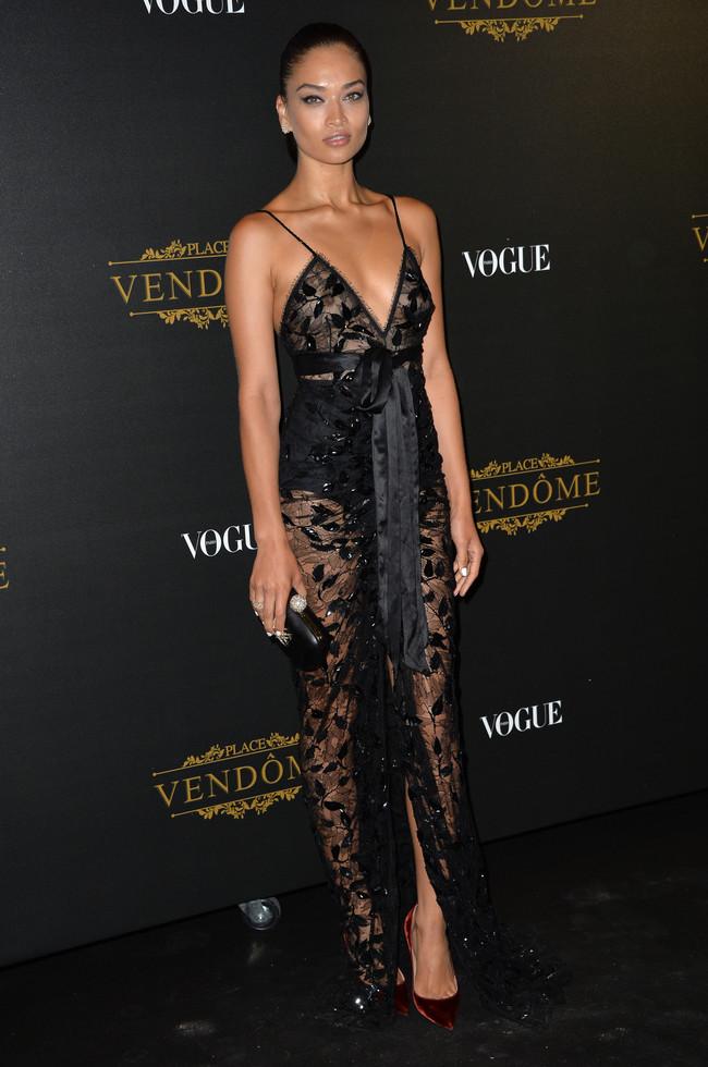 fiesta vogue paris fashion week Shanina Shaik