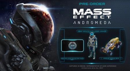 Mass Effect Andromeda detalla sus bonificaciones de reserva con un nuevo tráiler