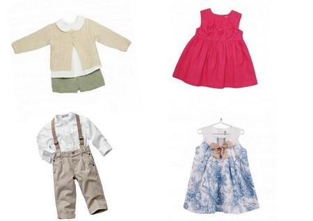 ropa fiesta para bebés pv 2014