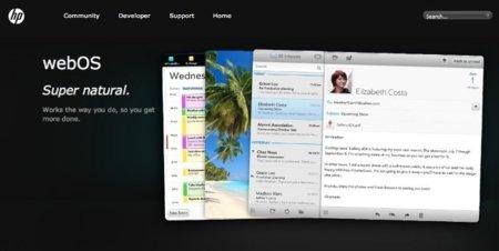 HP renueva la web oficial de WebOS para mostrar un sistema operativo sin rumbo