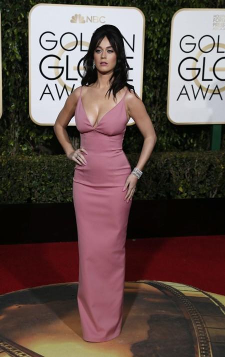 Katy Perry Prada Globos De Oro 2016 2