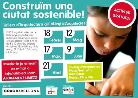 """Los """"sábados en el colegio de Arquitectos de Catalunya"""" están repletos de conocimiento práctico"""