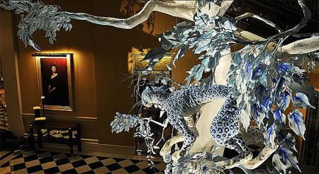 El árbol de Navidad del Hotel Claridge, por Dior