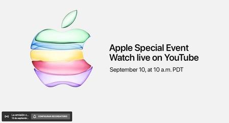 Sorpresa: Apple también utilizará YouTube para retransmitir en directo su keynote
