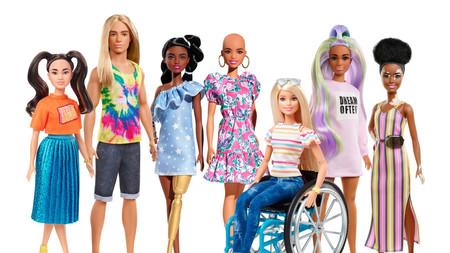 Barbie con vitíligo o sin pelo y Ken con una gran melena rubia: los nuevos muñecos inclusivos de Mattel