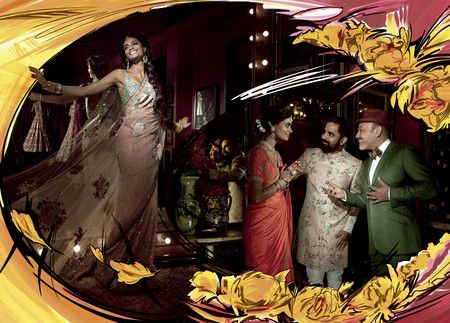 Christian Louboutin y su homenaje a Bollywood