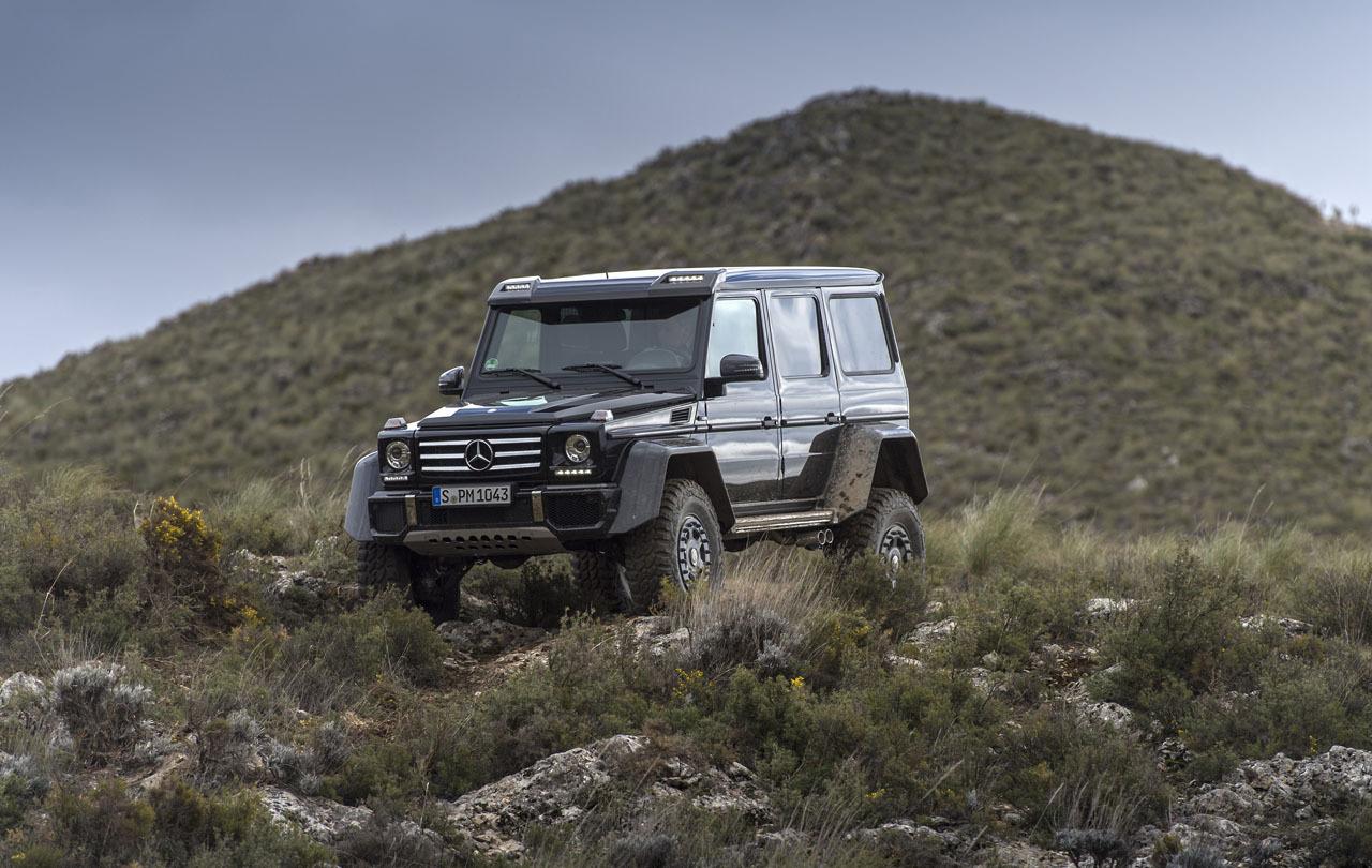 Foto de Mercedes-Benz G 500 4x4², toma de contacto (48/127)
