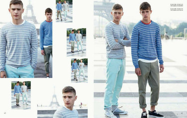 El lookbook del verano 2014 de United Colours of Benetton