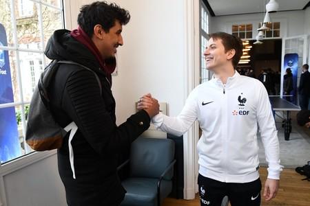 La selección francesa de FIFA se concentra en Clairefontaine, la meca del fútbol galo