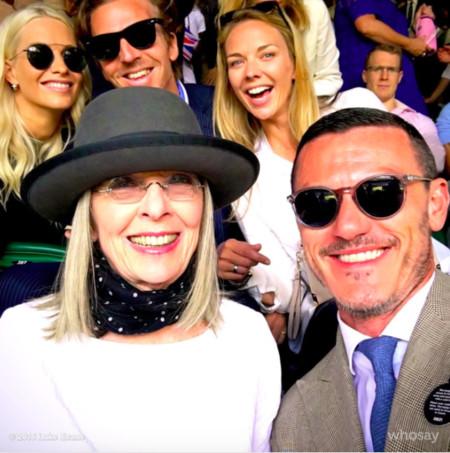 El fin de semana en Wimbledon hubo tenis y muchas celebrities