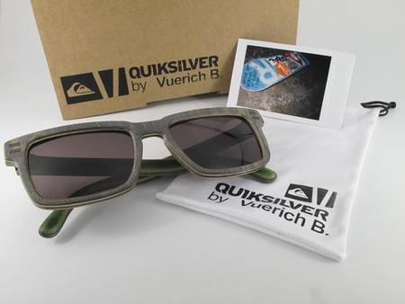 Quiksilver y Vuerich B crean `The Griffin´: una gafa artesana, eco-urbana y solidaria