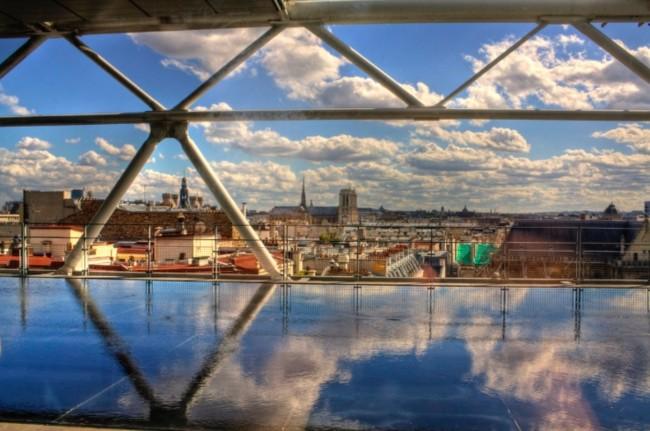 Vistas desde el Pompidou