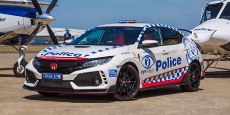 La policía de Australia adopta al Honda Civic Type R, pero no para perseguir maleantes