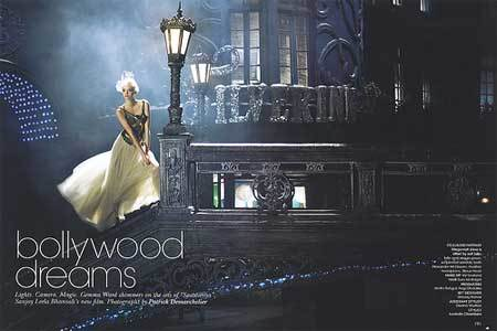 Gemma Ward en Vogue India