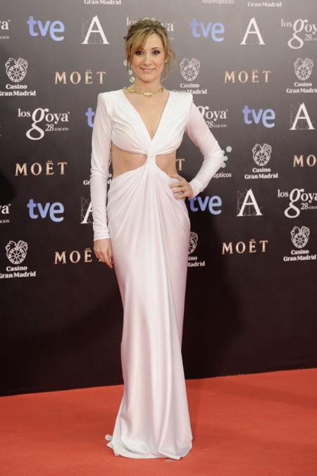 Nathalie Poza peor vestidas Goya 2014