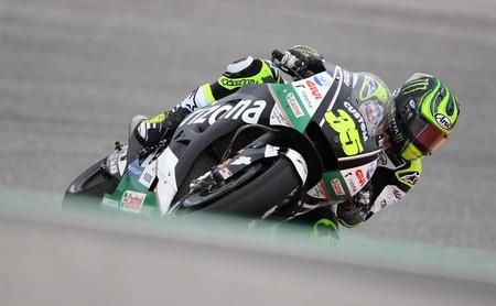 Cal Crutchlow acaba primero en una reñidísima primera jornada de MotoGP en Jerez