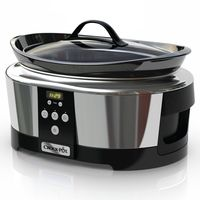 Oferta flash en la olla de cocción lenta Crock-Pot SCCPBPP605: hasta medianoche su precio será de sólo 69 euros