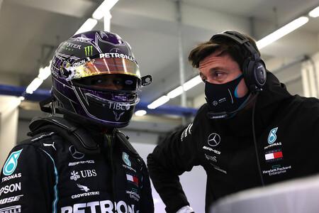 Hamilton Wolff F1 2020