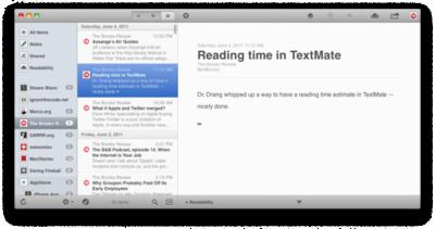 Reeder, ahora gratuito en iPad y OS X
