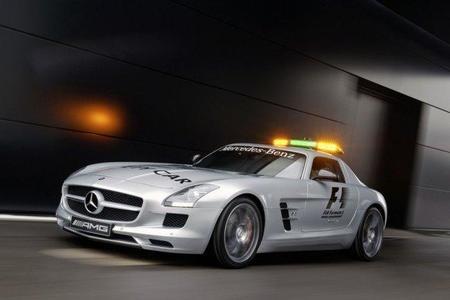 El Mercedes SLS AMG seguirá velando por la seguridad en la Fórmula 1 (con video)