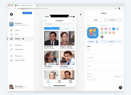Así es Glide: una herramienta para crear tu propia aplicación a partir de una hoja de cálculo de Google, en cinco minutos y gratis