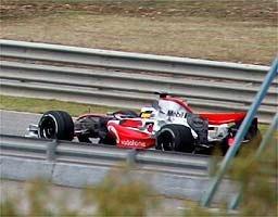 La nueva imagen de McLaren para 2007