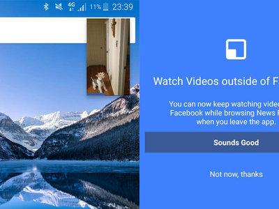 Facebook te deja ver vídeos en segundo plano aunque cambies de app: ahora es tu turno, YouTube