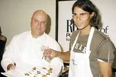 Rafael Nadal se mete en la cocina
