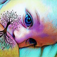 Cómo crear tu fotografía de lactancia del árbol de la vida (#treeoflife)