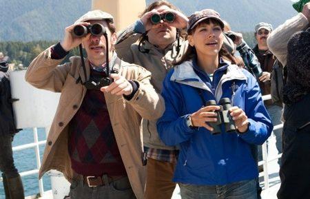 Tim Blake Nelson, Black y Rashida Jones en una escena de El Gran Año