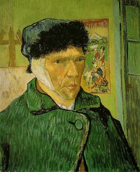 Van Gogh Autorretrato Sin Oreja
