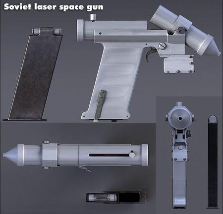 Soviet Laser Space Pistol 2