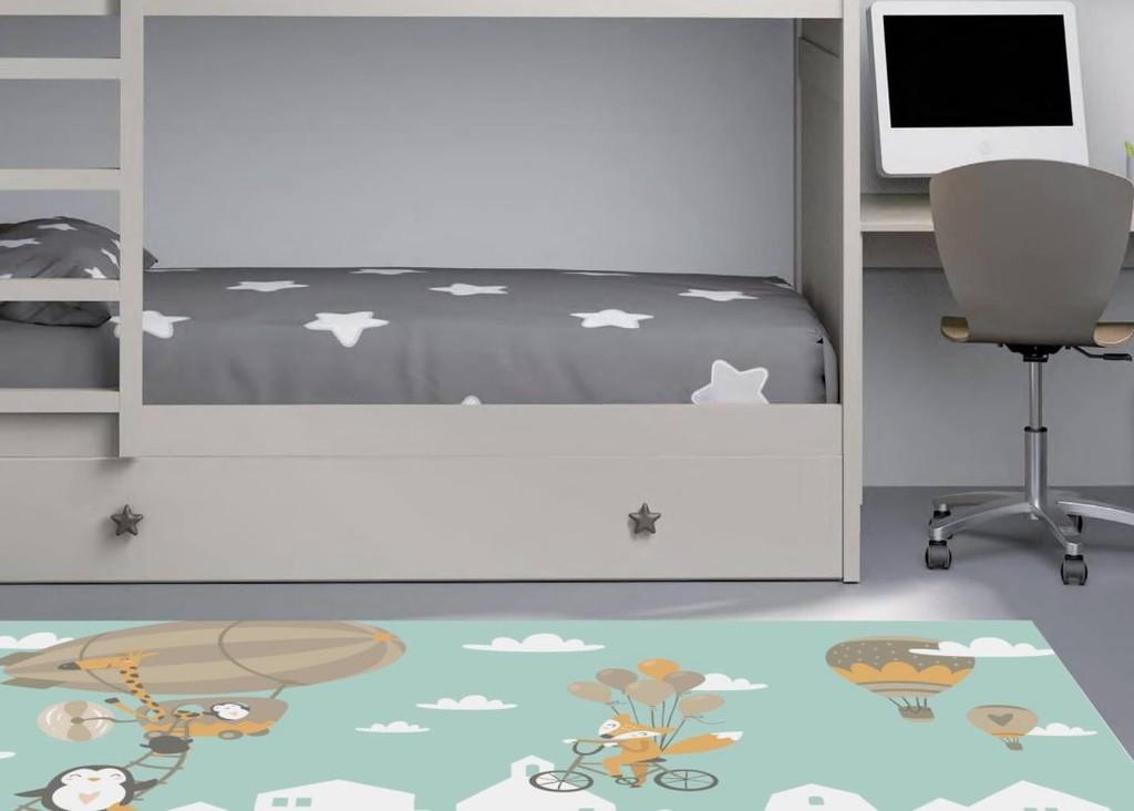 Donurmy la firma de alfombras vinílicas, económicas y atemporales presenta su primera colección infantil