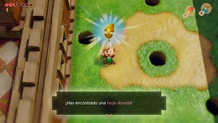 hoja dorada Link's Awakening
