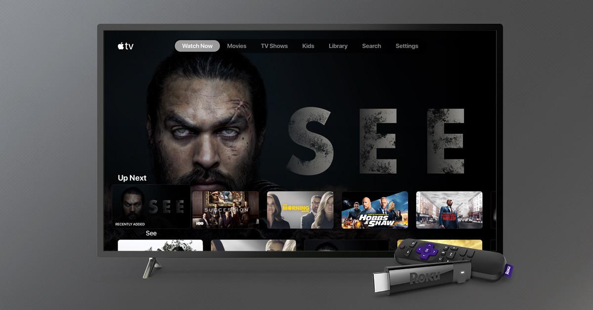La app de Apple TV ya está disponible para dispositivos Roku en EE.UU., gran parte de Latinoamérica y más...